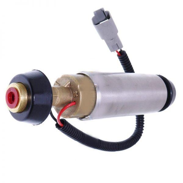 Functioneaza la 24 de volti; Are mufa cu doi pini.