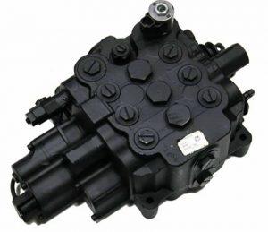 Distribuitor hidraulic pentru buldoexcavator JCB 4CX
