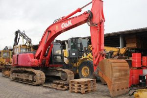 piese excavator O and K